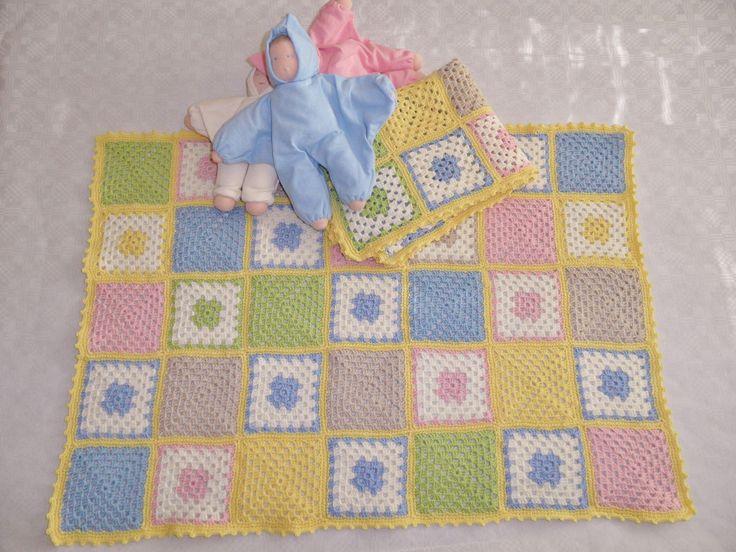 Baby Blanket teetee Helmi 100% merino