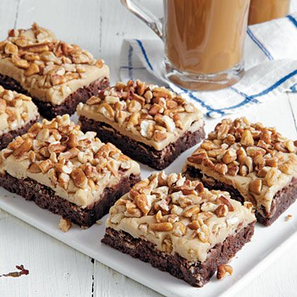 Caramel-Pecan Brownies | Whoopies, Brownies, Bars and Squares! | Pint ...