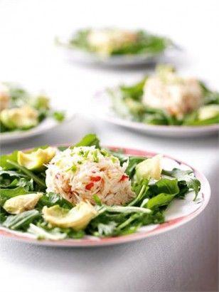 Crab and avocado salad w/ mirin dressing.
