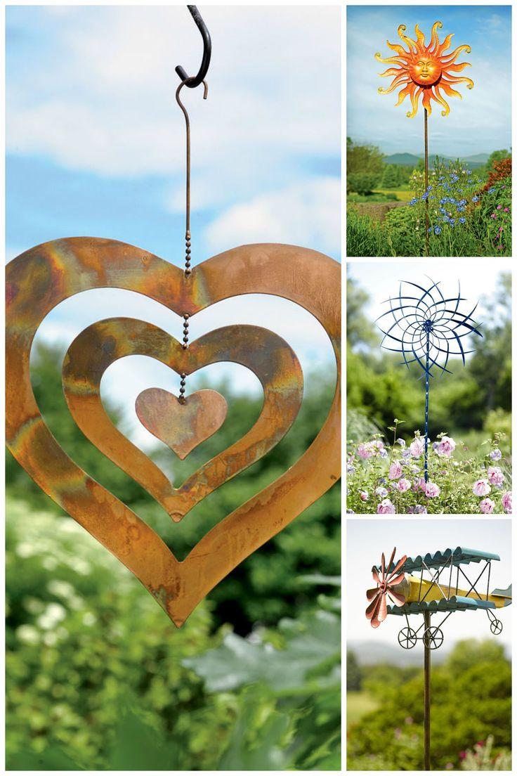 Garden Spinner Ideas 7 best Wind Decor