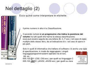 Capire la Classificazione decimale Dewey