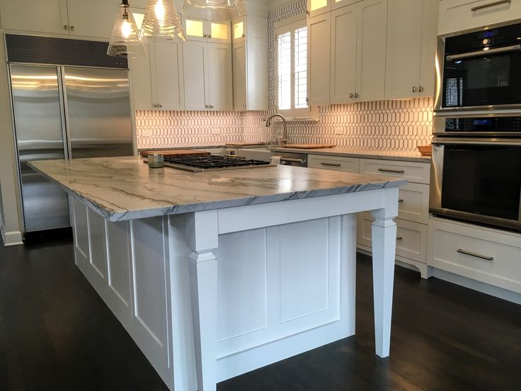 Shaker style, full overlay, Sherwin Williams White Dove ...