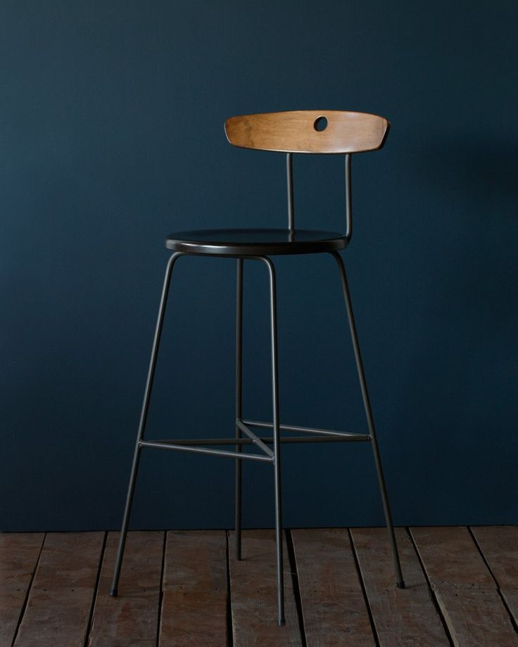 lostine ana stool metal wood restaurant bar and counter height $438
