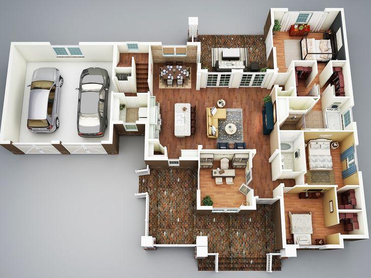 2069 best Floor plans images on Pinterest Floor plans, Apartments