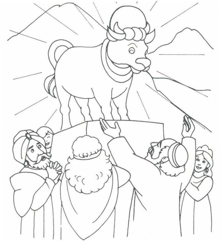 The golden calf (Exodus 32)