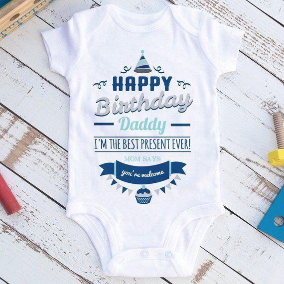 Geschenk fur papa zum geburtstag von baby