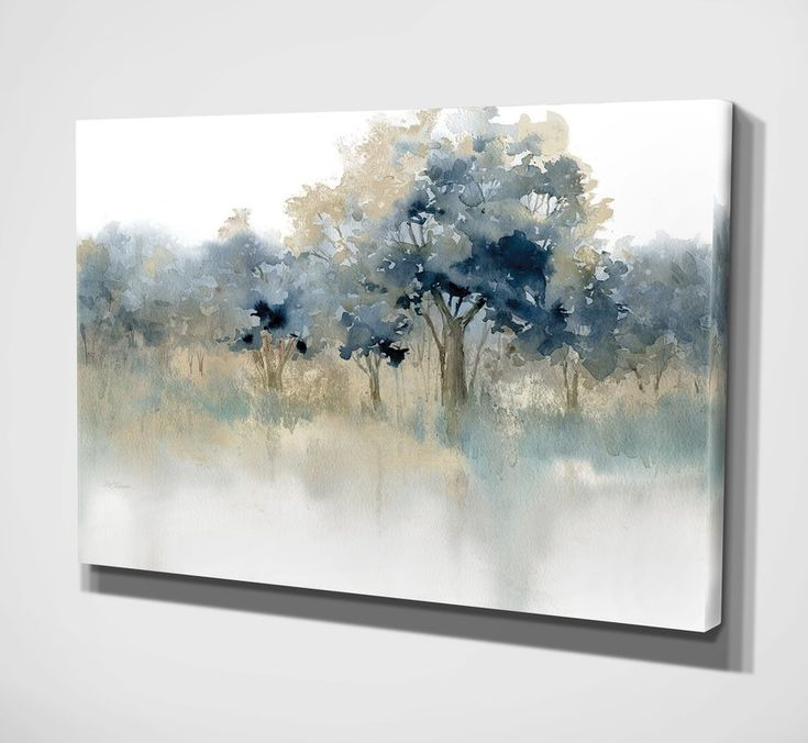 'Waters Edge II' Oil Painting Print on Wrapped Canvas
