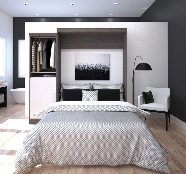 Nebula Collection by Bestar is the ideal solution for organizing small spaces with multiple purposes