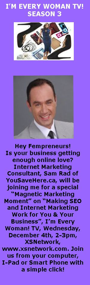 Internet Marketing Consultant Sam Rad Of YousavehereCa Will Be