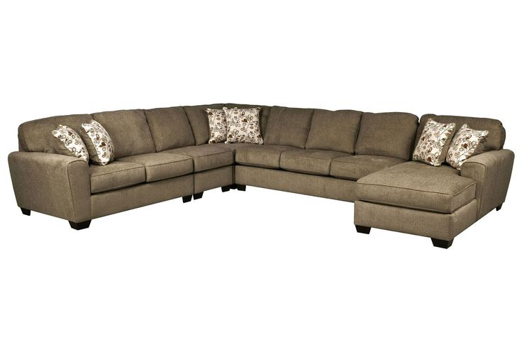 Best Patola Park 5 Piece Sectional W Raf Chaise Sectional 400 x 300