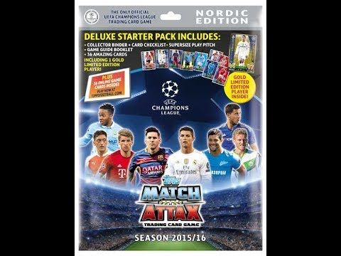 Reviewing Match Attax + A GIVEAWAY!!!!! - YouTube