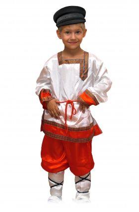 Русские народные костюмы для детей от 3 до 16 лет.