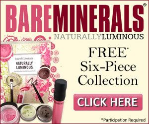 Bare Minerals giveaway. get a chance to win Bare Minerals without having to buy. Click the link below and enter your email.