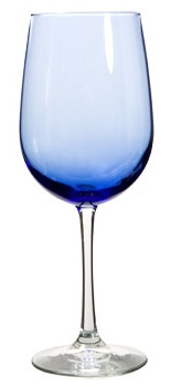 Famous Maker Blue Wine Glass/ 18.5oz - Add some color to your summer dinner parties! 99 point 99 cents each
