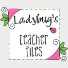 I love to share files and ideas on my blog...Ladybugs Teacher Files...