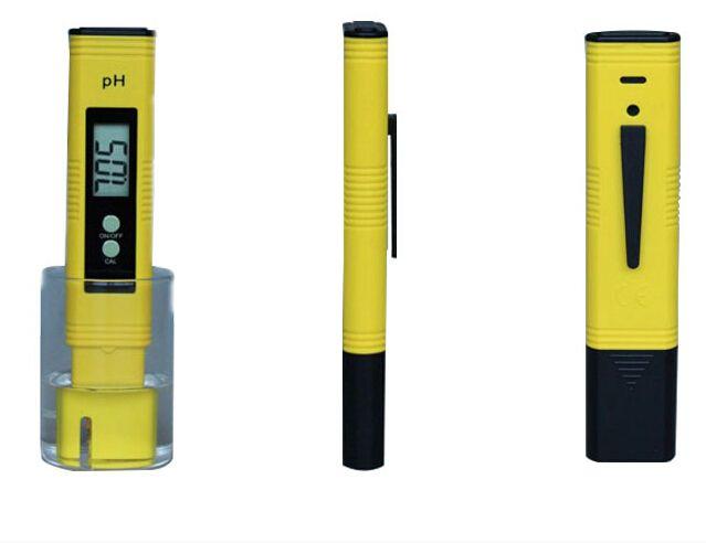 LCD Digital PH Meter Tester  Aquarium Pool Water ph meter Analyzer with 0.01  automatic calibration