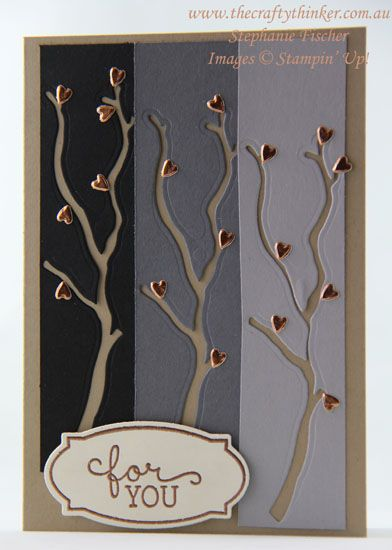 www,thecraftythinker.com.au, masculine card, leftover die cuts, Seasonal Layers, Stampin' Up