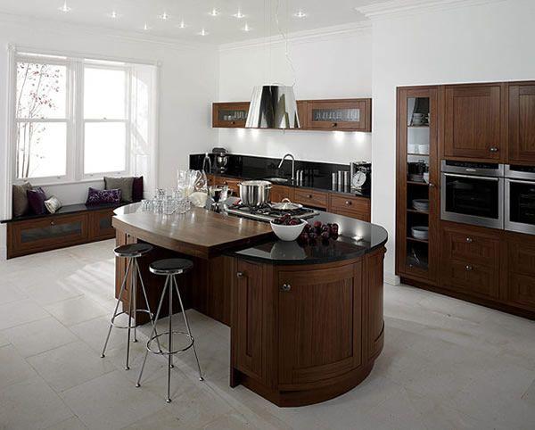 Les 25 meilleures id es concernant lot de cuisine rond sur pinterest forme - Ilots de cuisine mobile ...
