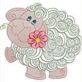 Swirly Sheep