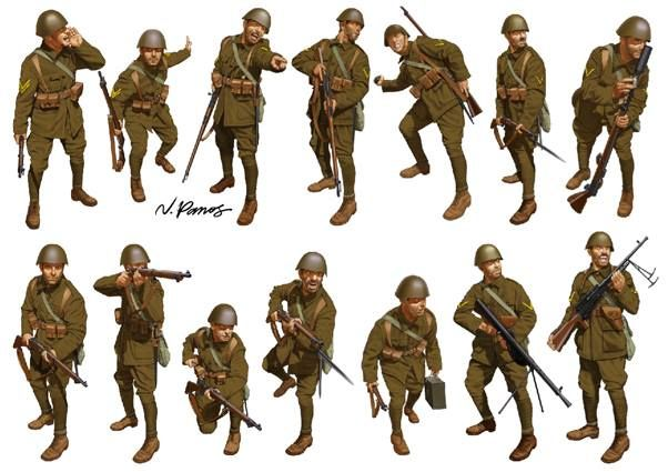 Nikos Panos Battle Dress October 31, 2013 · Edited HELLENIC (GREEK) ARMY, 1940: Greek Infantrymen in action! One of two sets -the other titled 1944- of my new Battle Dress series.