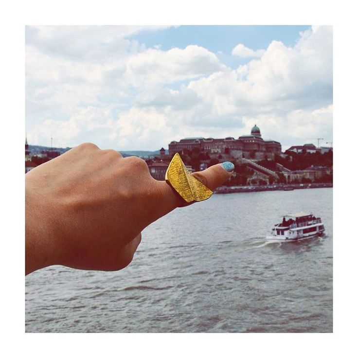 Must be the reason why I'm king of my castle   Extravagant brass statement rings are waiting for you #budapest #sightseeing