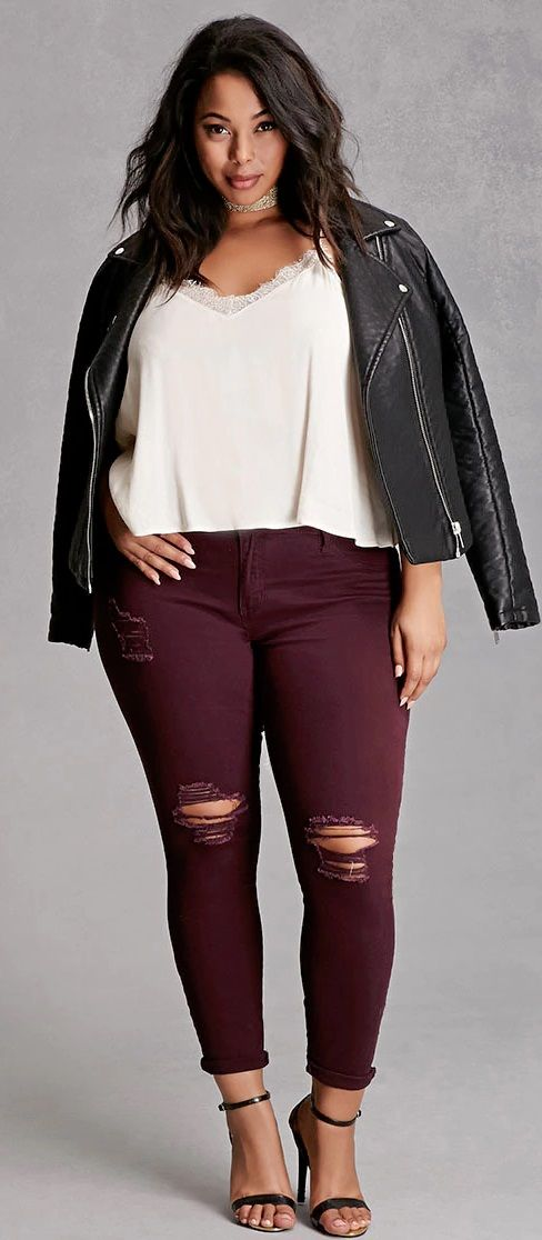 1000  ideas about Plus Size Jeans on Pinterest  Women&39s plus size