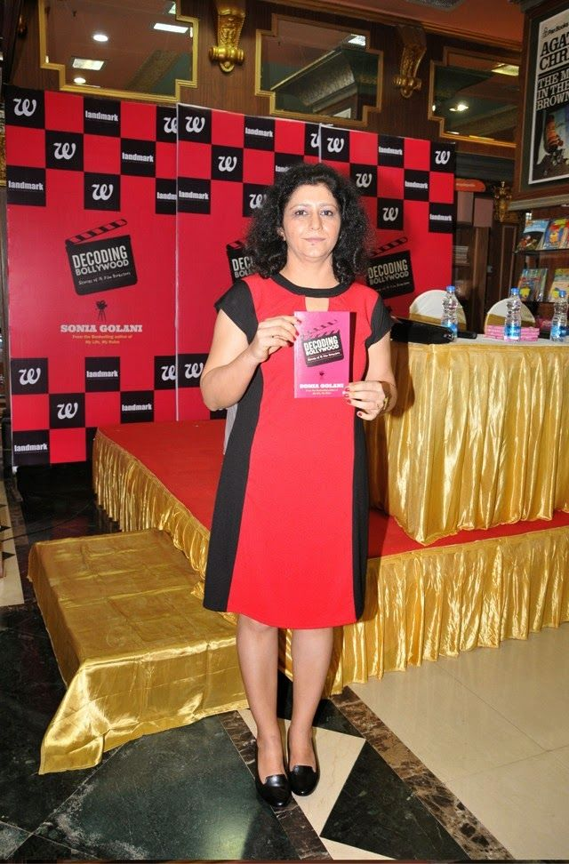 Sonia Golani, author of Decoding Bollywood (Interviewed by M)