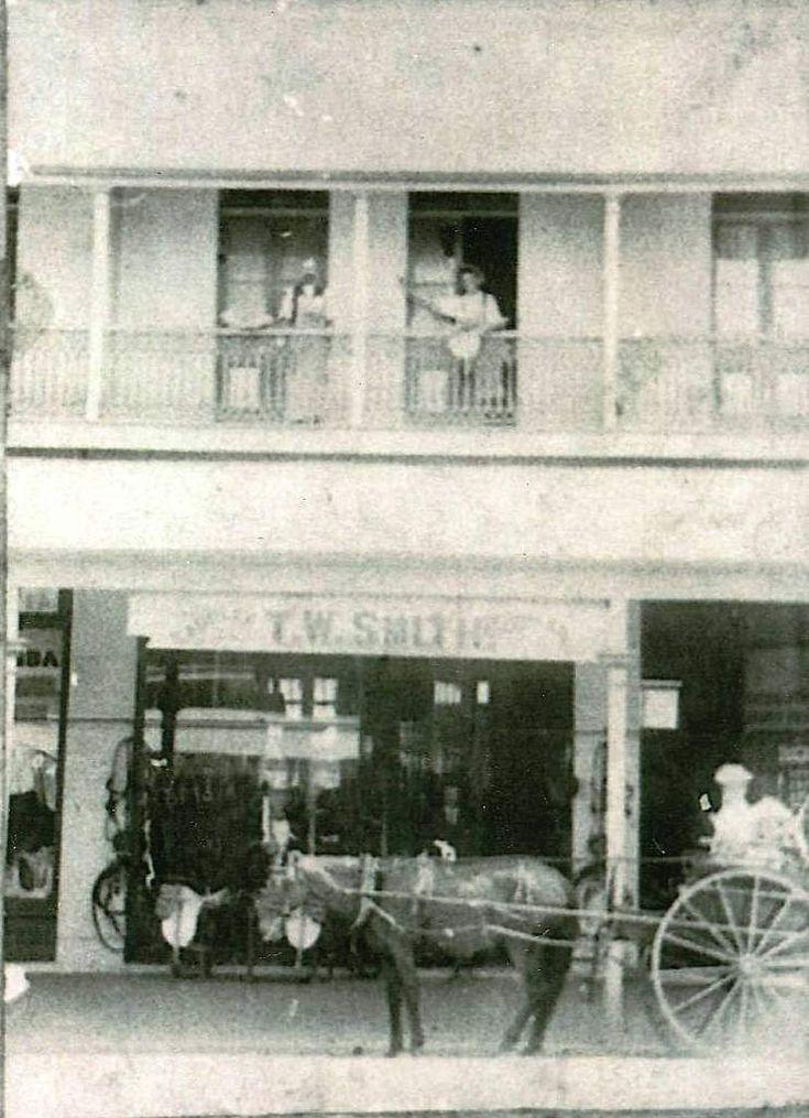 https://flic.kr/p/G4VQ9S | T W Smith saddlery shop, Woolloongabba - circa 1900 | Photo courtesy of Anne Hutchinson