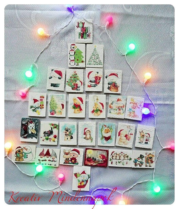 🎄 Első adag hűtőmágneseim elkészültek🎄 Bárkinek adhatod aki kedves a számodra. Egy pici kis figyelmesség🎁 Ára: 350 Ft/db #hűtőmágnes #karacsonyihűtőmágnes #karácsony #varomakaracsonyt #ajándék #ajándékötlet #christmas #giftideas #kreativmindennapok  @ Kreatív Mindennapok