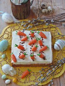 Húsvétkor kihagyhatatlan az édességek sorából egy finom répatorta. Azoknak is ajánlom akik nem kedvelik annyira ezt a z...