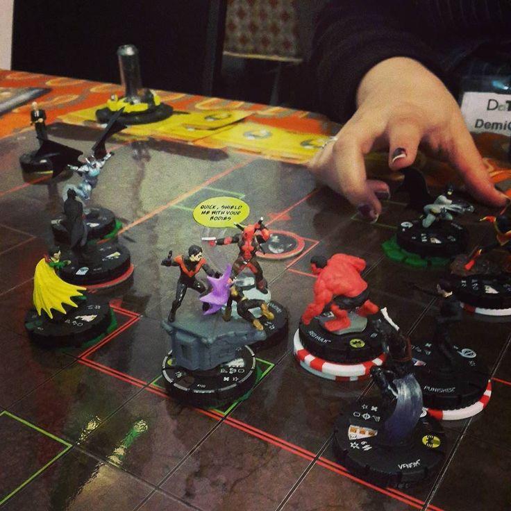 Team Batman vs the Thunderbolts #heroclix