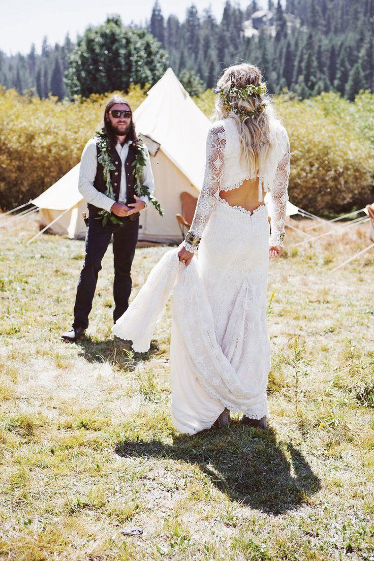 Bohemian Wedding Ideas - Boho Bride Looks
