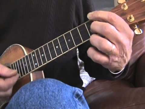 Easy ukulele blues in A (Tutorial) - YouTube - this is really simple yet sounds great!