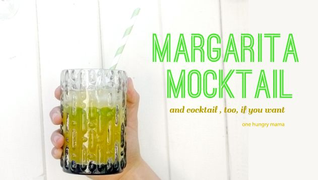 A Margarita Mocktail recipe that tastes like the real deal! | One Hungry Mama
