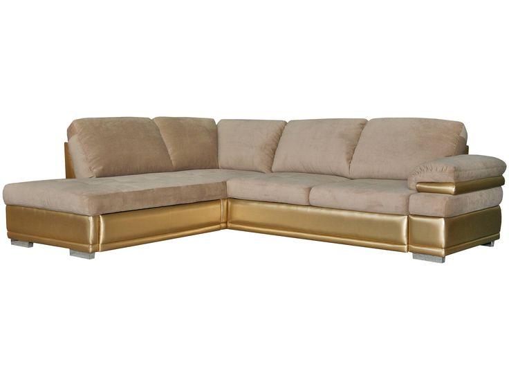 Unusual textile combination. Angle sofa - Pinskdrev factory.