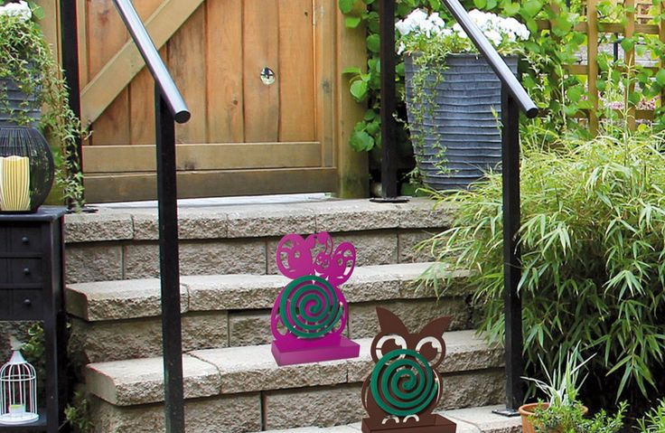 MIAtwist i simpatici e colorati porta zampironi per il tuo giardino! Scoprili tutti!  #arredo #casa #giardino #farfalla #gufo