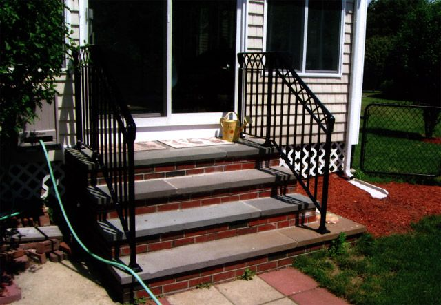 Best Ornamental Wrought Iron Railings Ma Ri Custom Exterior 400 x 300
