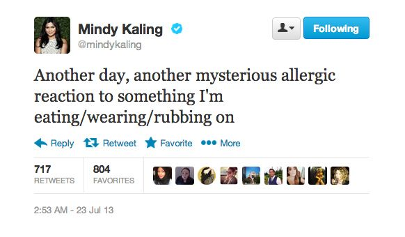 The 19 Most Relatable Tweets From Mindy Kaling