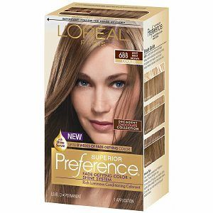 Bronde loreal dunkle haare