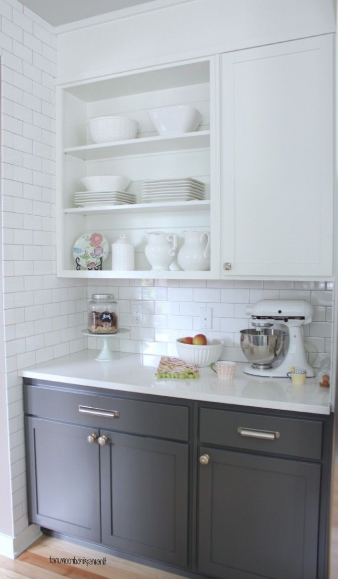Painting Kitchen Cabinets White Dove Grey Lowes Kitchen Cabinet With White Porcelain Countertop Fragile Stuff Storage