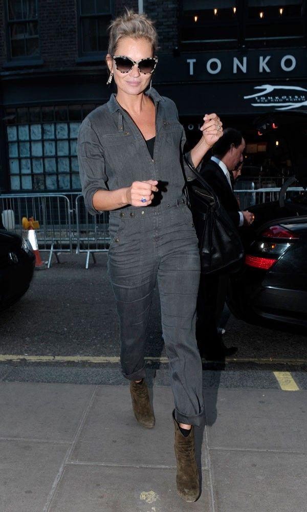 Kate Moss wearing Prism Portofino sunglasses in London