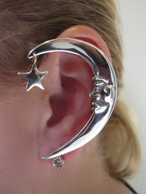 Marty Magic Store - Silver Moon Ear Wrap, $139.00 (http://www.martymagic.com/products/Moon-Ear-Wrap.html)