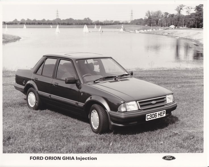 1985 Ford Orion 1.6 Ghia Injection