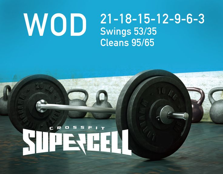 #CrossFit #Supercell #WOD healthandfitnessnewswir.com