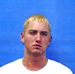 "Marshall Mathers mugshot. Eminem was arrested in June 2000 for gun charges. Years later Mathers confessed that his arrest was a major wake-up call for him, causing him to make a decision then and there to stop acting like an ""idiot."" His latest comeback album is about his new life in recovery. Top 10 Celebrities that Wouldn't Pass a Background Check—Instant Checkmate http://blog.instantcheckmate.com/top-10-celebrities-that-wouldnt-pass-a-background-check/#: Profile Mugshots, Top 10, Gun Charges, Famous Mugshots, Mugshot Pics, Background Check Instant, Mathers Mugshot"
