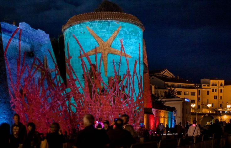 annamaria monteverdi » Interview to Konic thtr about their videomapping creation in Alghero, Torre della Maddalena