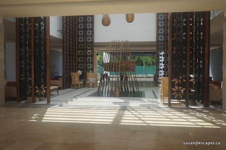Hyatt Ziva Vallarta, welcoming lobby