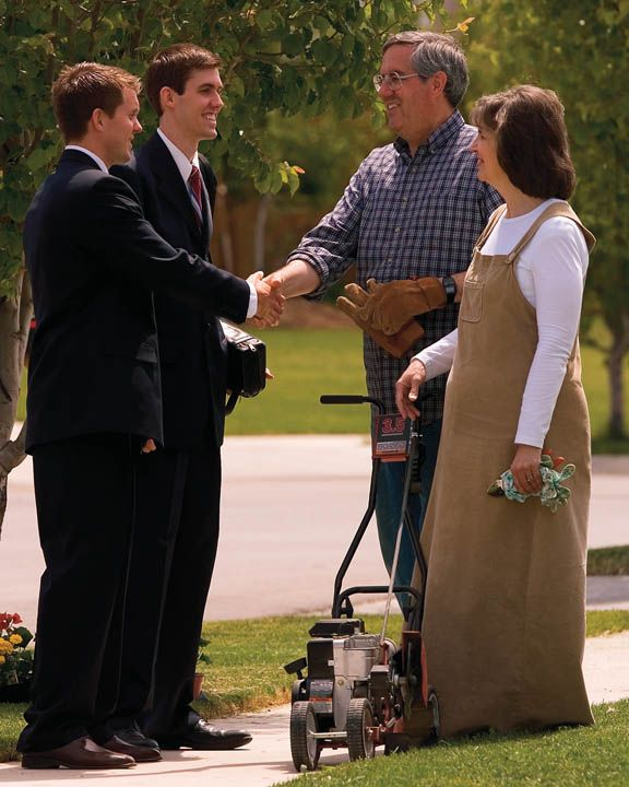 """Title: Mormon Youth and the Call to Serve. """"During the opening session of the 182nd Semiannual General Conference of The Church of Jesus Christ of Latter-day Saints President Thomas S. Monson announced that the new age for young men to serve a mission is 18 and the new age for young women is 19."""