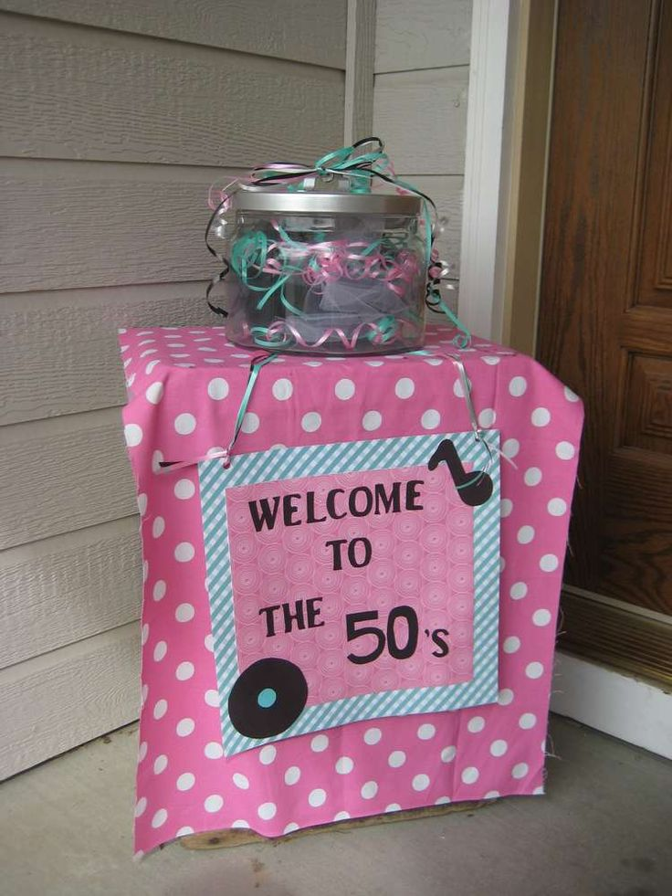 1950's Birthday Party Ideas | Photo 1 of 9 | Catch My Party