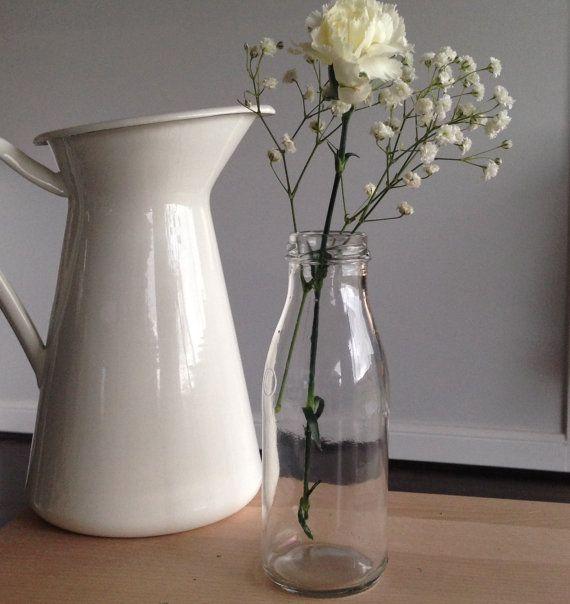 1 250ml Decorative Glass Bottle by BreeWestwood on Etsy, $2.00